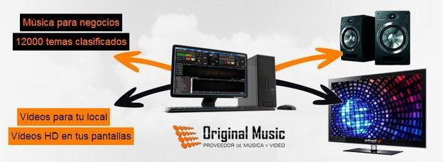 Alquiler de equipos de musicalización. Música+Videos+Publicidad
