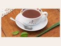 Chocolate a la taza con aloe vera