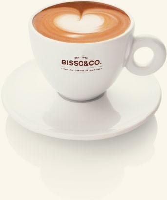 Taza de café. Delicioso café en grano