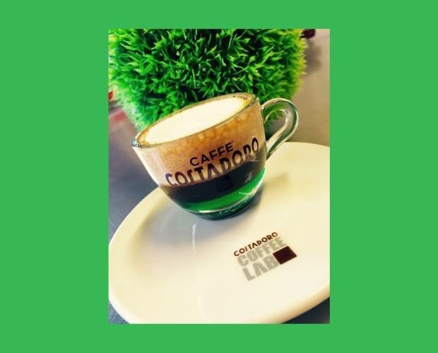 Cafe italiano. Caffe Costadoro, Torino, Italia