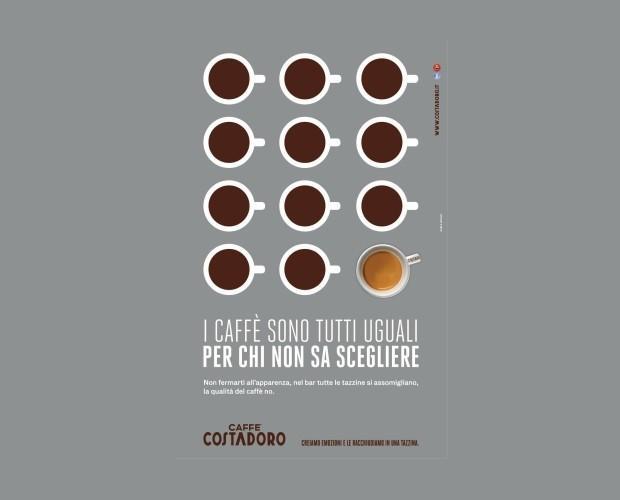 Cafe en grano. Caffe Costadoro, una Gran Marca, Torino, Italia.