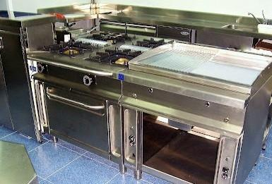 Cocinas Industriales. Proveedores de cocinas industriales
