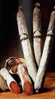 Proveedores de Embutidos. Lomo ibérico de bellota, chorizo