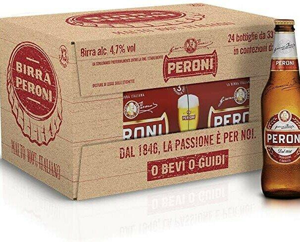 Cerveza Italiana. disponibles las marcas más famosas de cerveza italiana