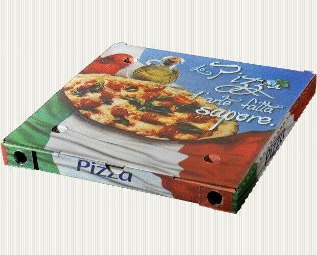 Cajas de pizza de varios tamaños. Cajas de pizza de varios tamaños. Papel para manos y mucho más.