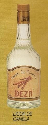 Licor de canela. licor de manzana, de orujo,  de café y de avellana