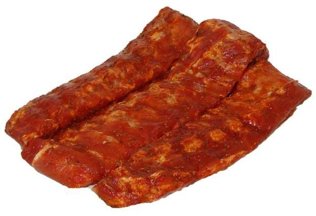 Carne de Cerdo.Costillas de cerdo adobadas