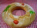 Pan. Roscón de crema