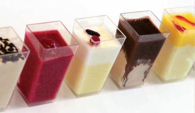 Varios sabores. Más de 400 sabores de helados elaborados con leche