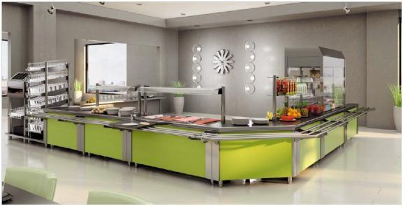 Buffet-Self Service. Elementos para buffets y Self Service.