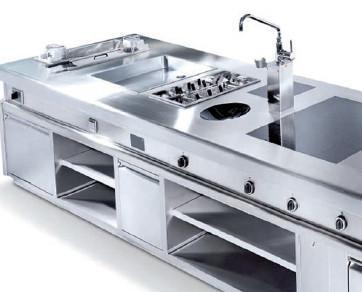 Cocinas industriales. Equipamiento de cocinas industriales