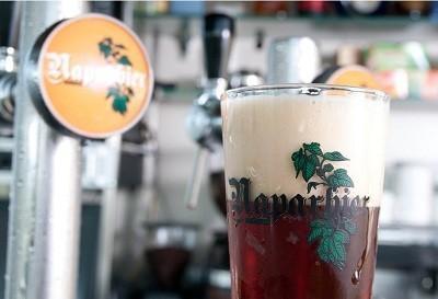 Cerveza. Cerveza natural y sin conservantes