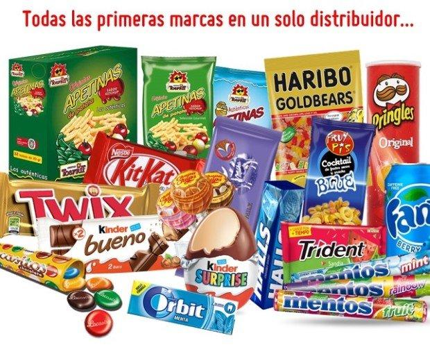 Golosinas. Caramelos. Disponemos de las mejores marcas a precios económicos.