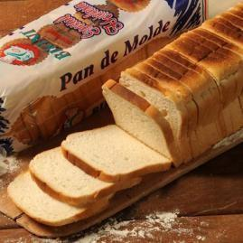 Pan de molde. Pan de molde