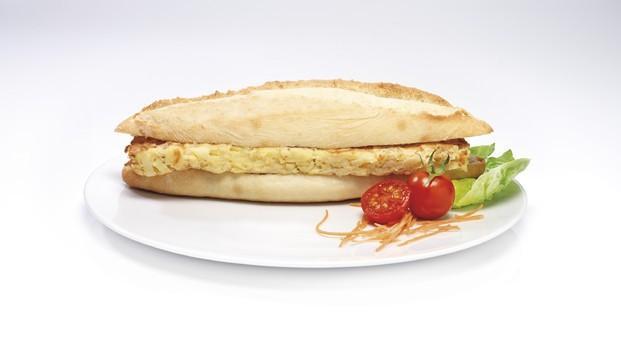 Bocadillo Tortilla De Patata. Platos precocinados