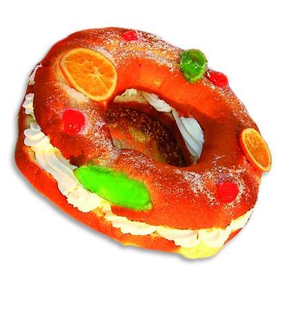 Tortel de Reyes. Tortel de Reyes con sorpresa