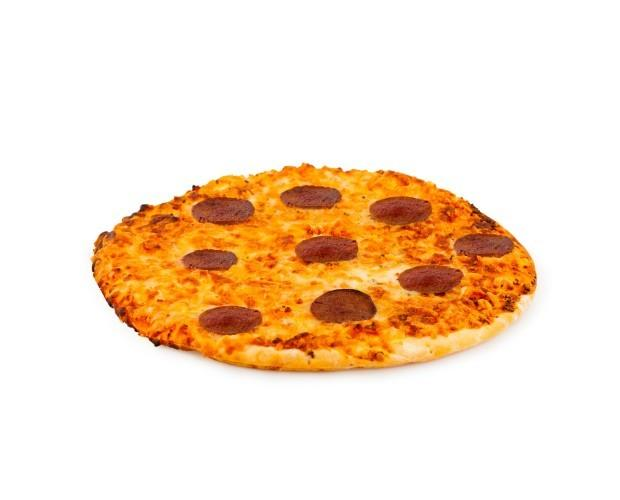 Pizza pepperoni. Pizza pepperoni congelada