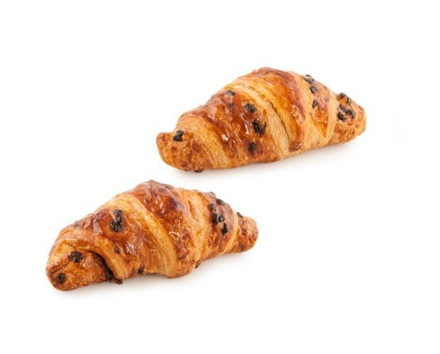 Croissant. De chocolate y avellana