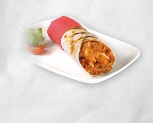 Burrito pollo y jalapeño. Platos precocinados