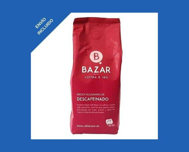 Café Molido Bazar. Con todas las excelentes propiedades y características del café Bazar
