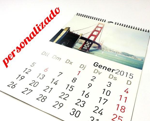 Papelería para Bares.Calendarios y almanaques 2017, personalizados