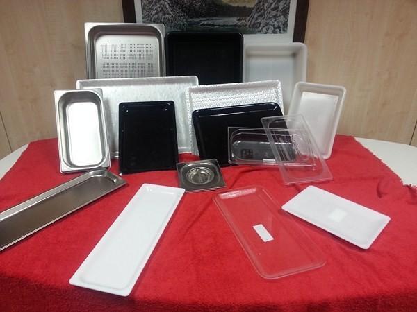 Cubetas de Acero Inoxidable.Cubetas, lavamanos, grifos y mesas
