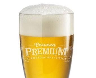 Lager. Cerveza Premium