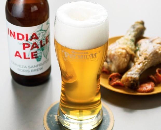 SanFrutos India Pale Ale. Muy equilibrada y con aromas muy frescos