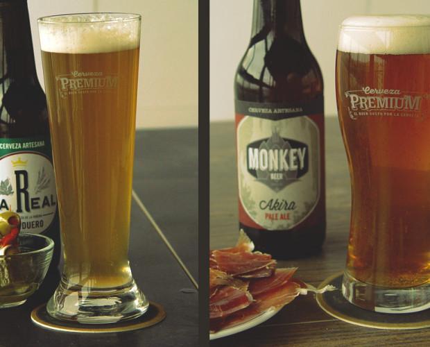 Cervezas de calidad. Ideales para acompañas cualquier tapa