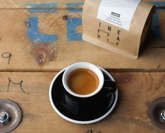 Ineffable Coffee. Muestra bolsa guatemala