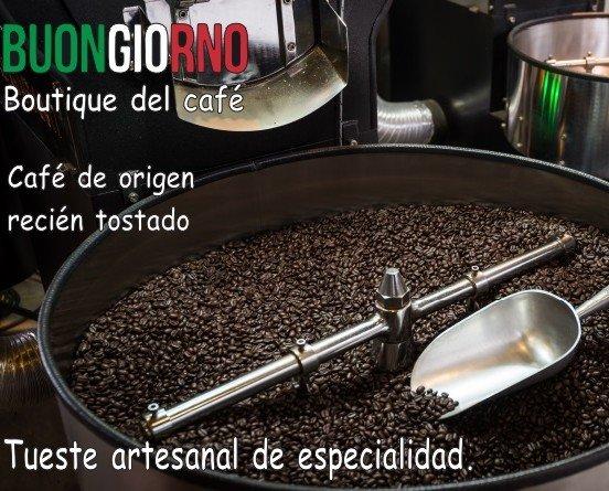 Cafe Recien tostado. Café de especialidad de calidad internacional