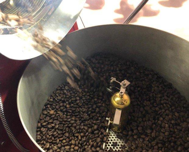 Café en grano. Café en grano al peso