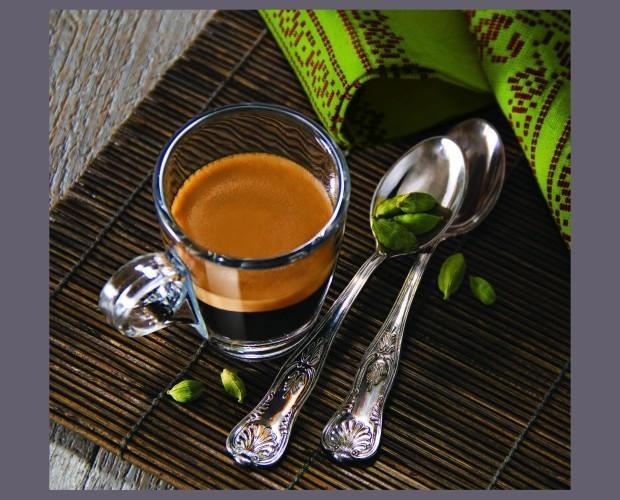Cardamomo. Realza el cálido sabor del café espresso