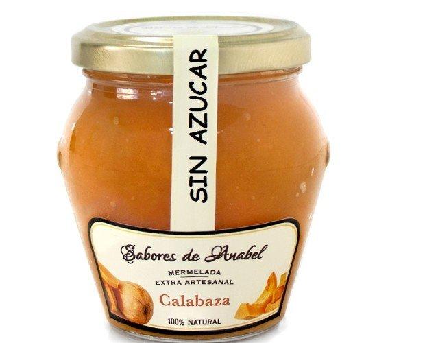 Mermelada de Calabaza. Mermeladas de fruta al 70% sin Azucar.