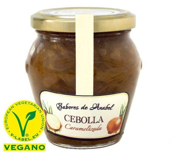 CEBOLLA. Cebolla Caramelizada, de temporada artesana, producto de proximidad. sin gluten, sin conservantes