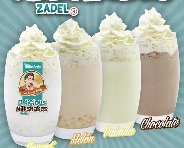 Batidos.Deliciosos Milkshakes ZADEL