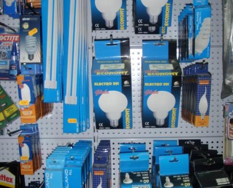 Ilumiación bajo consumo. Precios económicos