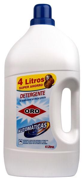 Detergente líquido. Automáticas