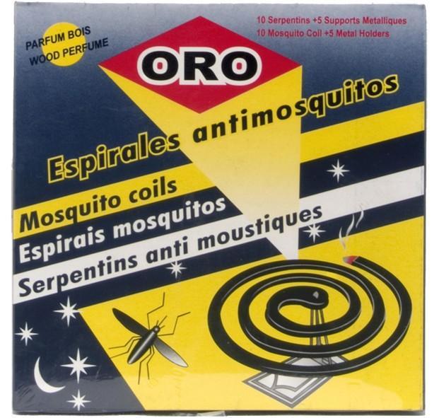 Espirales antimosquitos. Perfumados