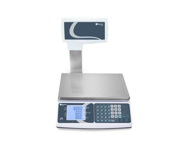 Balanza. La balanza XTI es ideal para uso en fruterías, ventas en cooperativas o mercados ambulantes.