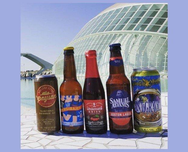 Fotos Valencia. Cerveza artesanal diferentes formatos