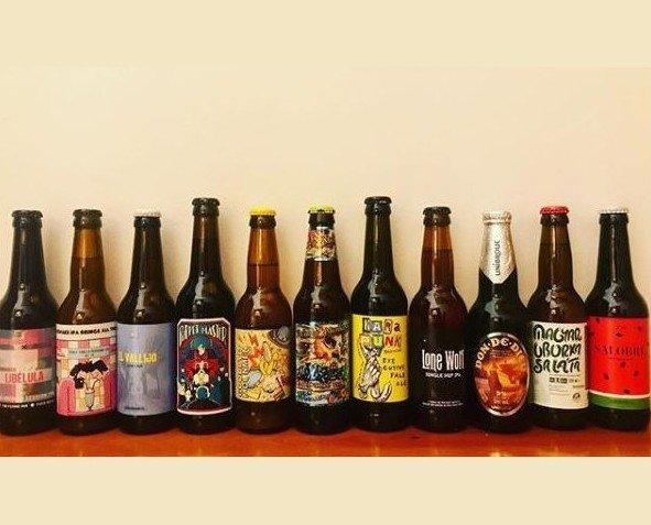 Birra de Europa. Cervezas artesanales