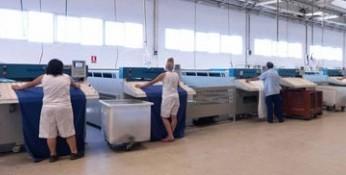 Lavandería Industrial.Servicios de lavandería industrial