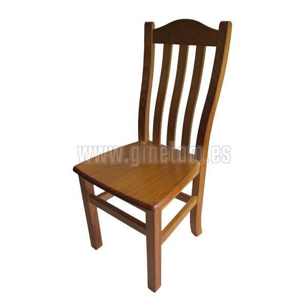 Silla de Madera. Muebles en madera