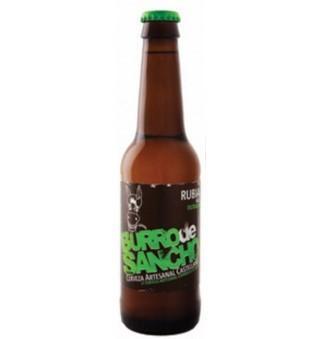 Burro De Sancho Rubia. Cerveza Artesanal