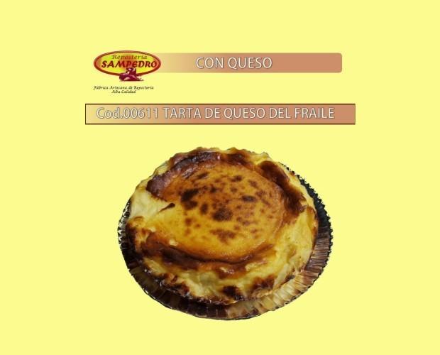 Tarta de queso. Tarta de queso del fraile