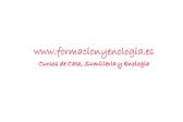 Formación y Enología
