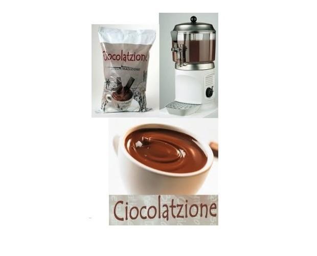 Chocolate de Sabores. Chocolate a la taza con una variedad de 10 sabres, clásico, turrón, blanco, turrón, avellana...