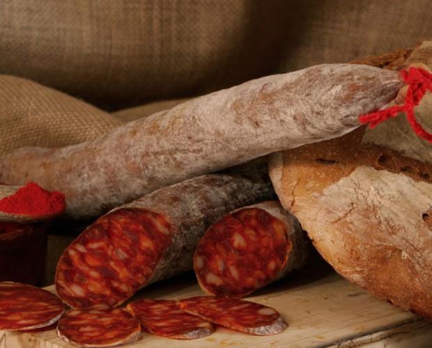Chorizo Curado.Chorizo Cular Extra Dulce y Extra Picante