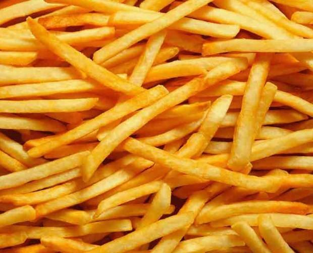Patatas Fritas Congeladas.Patatas fritas congeladas